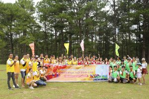 Công ty Gia Cát Lợi tổ chức du lịch thường niên