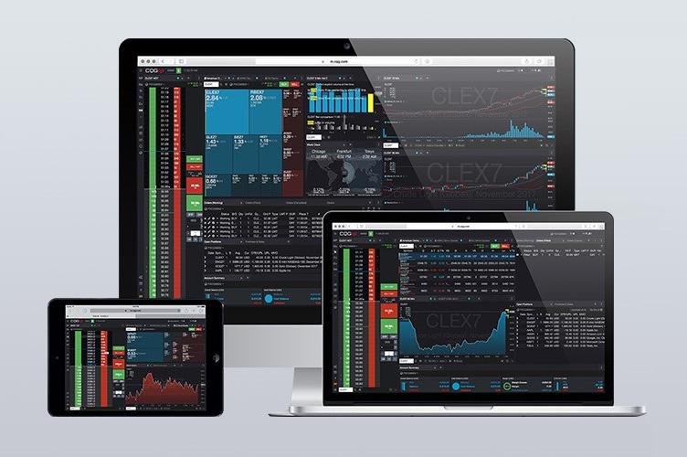 Phần mềm giao dịch hàng hóa CQG